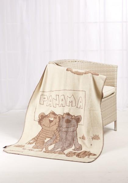 Janosch Kolter Decke Panama auf einem Stuhl