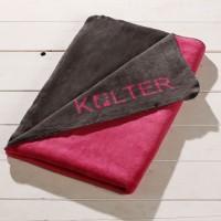 Wende Kolter 100x150 / Pink_Grau