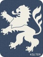 Hessen Löwe Kolter Blau
