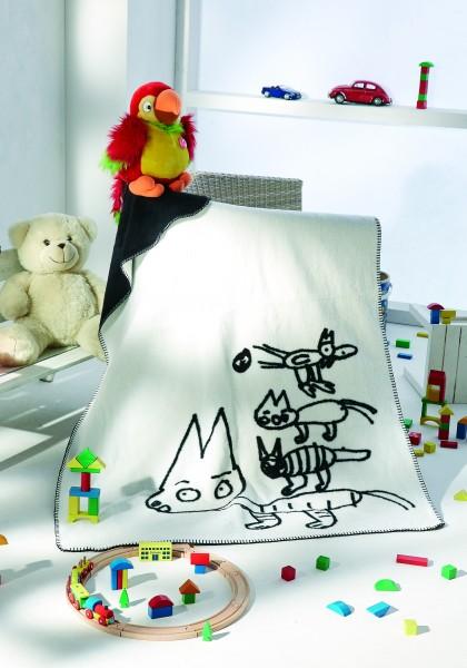 Kunst-Kolter Bremer Stadtmusikanten auf dem Bett liegend