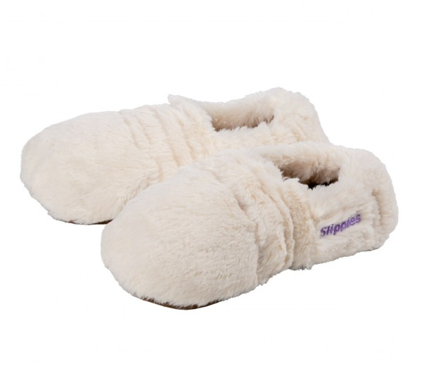 Slippies deluxe creme von Warmies