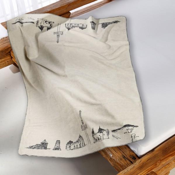 Vogelsberg Kolter auf dem Bett