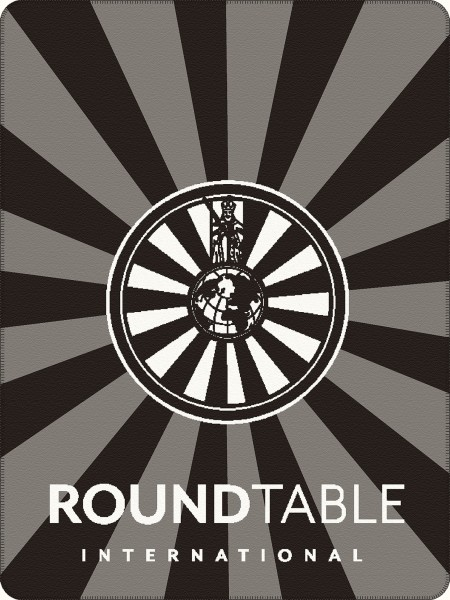 Round Table Blanket Decke