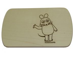 Frühstücksbrettchen Maus
