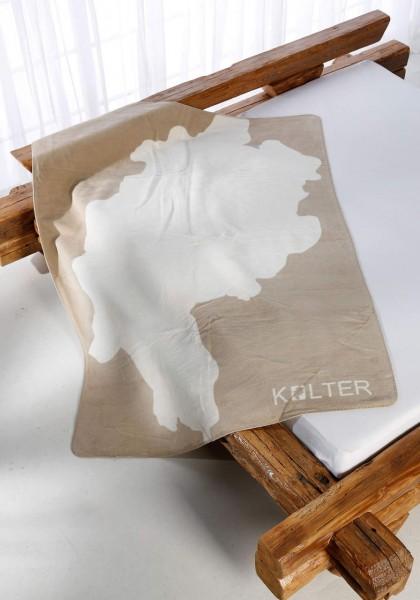 Hessenland-Kolter sand auf dem Bett