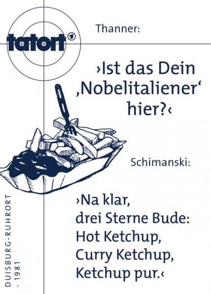Tatort Kuehlschrankmagnet Thanner