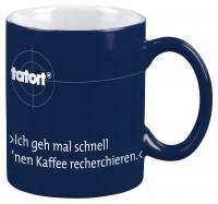 Tatort-Tasse: Recherchieren