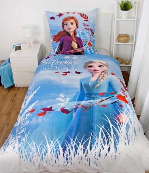 Kinderbettwaesche Eiskoenigin Elsa Ambiente