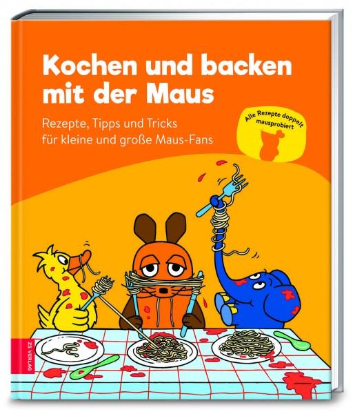 Das Buch Kochen und backen mit der Maus