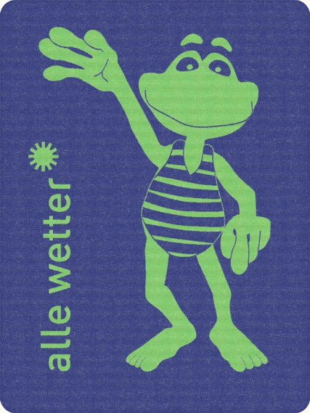 Fridolin Frosch Kolter Decke (c) alle wetter